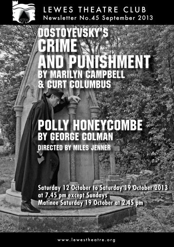 Crime and punishment - Lewes Little Theatre