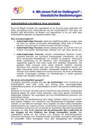 Gesetzliche Bestimmungen - Kreisjugendring Dachau