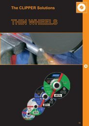 Thin Wheels - Norton Construction Products