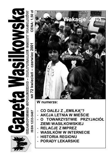 Numer 72 - Gazeta Wasilkowska - Wasilków
