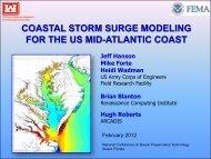 coastal storm surge modeling for the us mid-atlantic coast - fsbpa