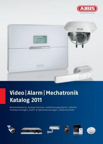 Video |Alarm |Mechatronik Katalog 2011