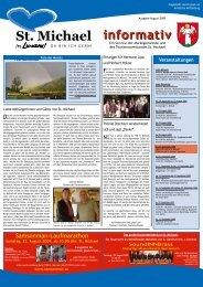 informativ - Wirtschaft St. Michael