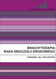 Informator dla chorych na raka gruczołu krokowego - Wielkopolskie ...