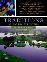 January/February/March 2013 - Heathrow Country Club