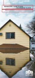 Flood Preparation and Safety Managing Your Flood Insurance Claim