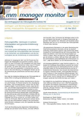 Vollständige Auswertung als PDF - Das Führungskräfte Institut FKI