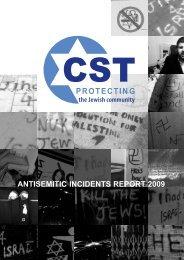 Antisemitic Incidents Report 2009 - Community Security Trust