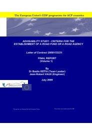 The European Union's EDF programme for ACP ... - Capacity4Dev