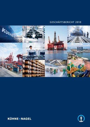 GESCHÄFTSBERICHT 2010 - Kuehne + Nagel