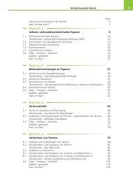 Inhaltsverzeichnis Kapitel 1 Kapitel 2 Kapitel 3 Kapitel 4