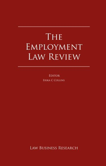 The Employment Law Review - ENS