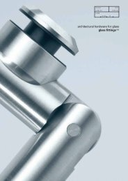 architectural hardware for glass glass fittings(2a)