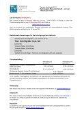 Call for papers - Tag der Hydrologie 2011 - Technische Universität ... - Page 3
