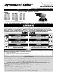 Dynorbital-Spirit® - Dynabrade Inc.