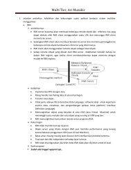 download soal dan jawaban kuliah multi tier - Blog Bina Darma