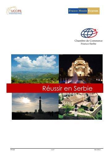 dossier Réussir en Serbie - ILE-DE-FRANCE INTERNATIONAL