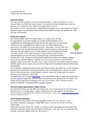 Android tablets - ProDef