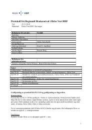2010-11-25 Protokoll - Helse Vest