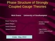 Nick Evans - University of Crete