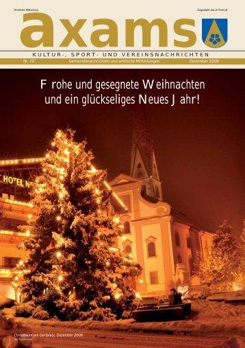 aufruf!!! - Gemeinde Axams - Land Tirol