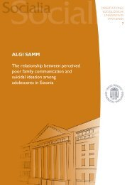 ALGI SAMM The relationship between perceived poor ... - DSpace