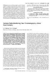 Isotope-Ratio-Monitoring Gas Chromatography-Mass Spectrometry