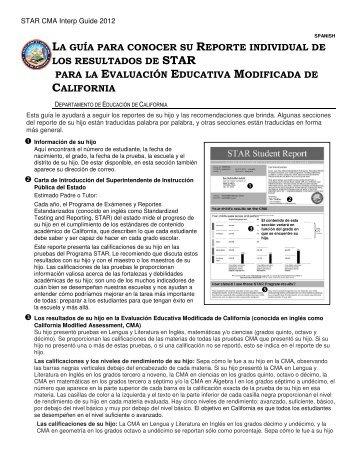 la guía para conocer su reporte individual de los resultados ... - EUSD