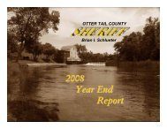 2008 Year End Report - Otter Tail County