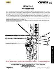 Lineman's Accessories
