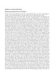 25 Jahre Kleingartenverein Am Ahrensfelder Berg e.V so feierten wir ...