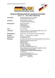 Deutsche Meisterschaft der Ländermannschaften