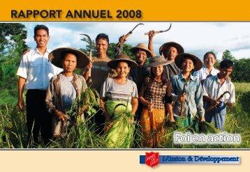 Comptes annuels fonds Mission 2008