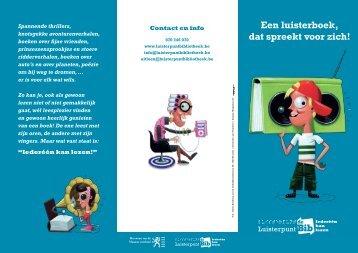 eentje voor kinderen en jongeren (pdf) - Luisterpunt