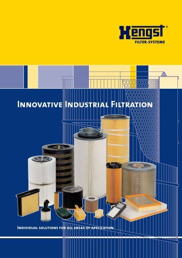 Innovative Industrial Filtration - Hengst GmbH & Co. KG