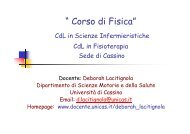ESEMPIO - Docente.unicas.it