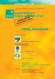 Session Program - EGG 2012