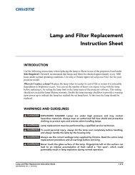 Lamp for Christie RoadRunner LX100 38-VIV403-01