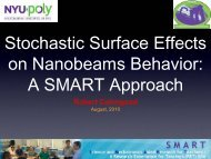 Stochastic Surface Effects on Nanobeams: A SMART ... - Mechatronics