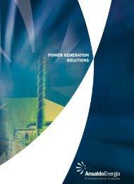 ANSALDO ENERGIA Power Generation Solutions