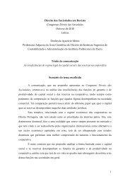 Direito das Sociedades em Revista - Repositório Científico do ...