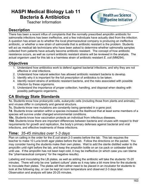 11 Bacteria & Antibiotics - Info.pdf - haspi
