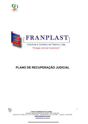PLANO DE RECUPERAÇÃO JUDICIAL - Rmilani.com.br