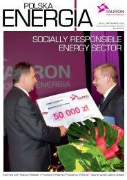 Socially reSponSible energy Sector - Tauron