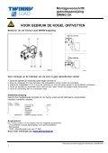 Montagevoorschrift/ gebruiksaanwijzing SWING CK - voor de fiets - Page 5