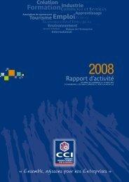 télécharger le Rapport d'Activité 2008 - (CCI) de Narbonne ...