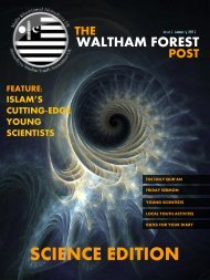 The Waltham Forest Post Issue 2 - January 2012