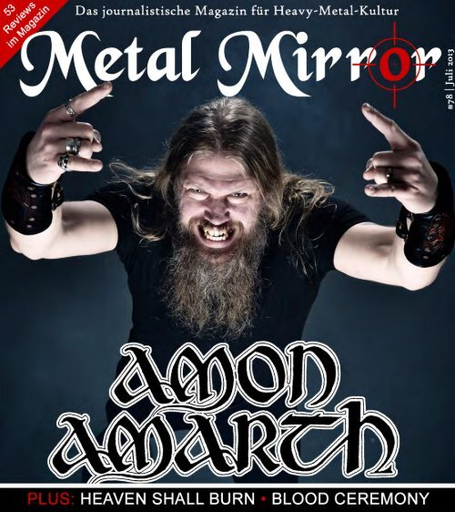 Amon Amarth, Heaven Shall Burn, Blood Ceremony ... - Metal Mirror