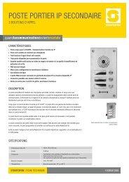 FT - Poste secondaire IP 3 boutons - 1011.indd - Zenitel