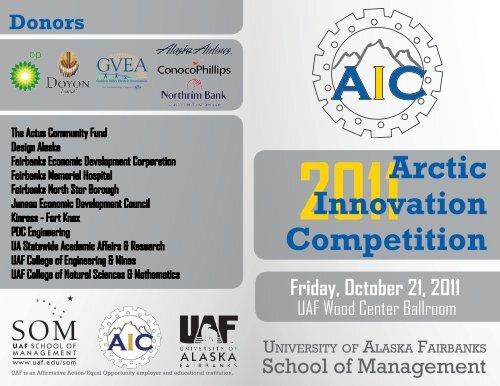 2011 AIC Program - Arctic Innovation Competition